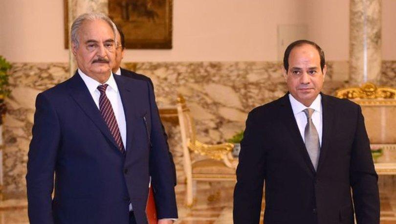 Darbeci Hafter, Libya'daki gelişmeleri görüşmek üzere Mısır'a geldi
