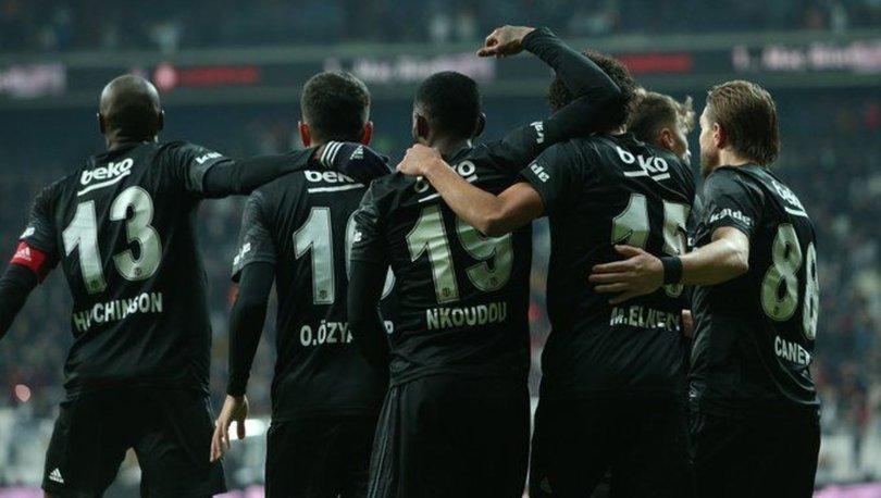Beşiktaş'ta ilk yarı raporu