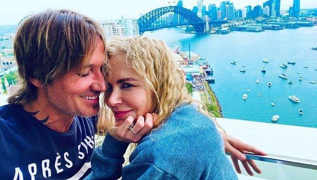 Nicole Kidman ve Keith Urban'dan romantik veda