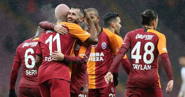 Galatasaray'ın borcu yapılandırdı
