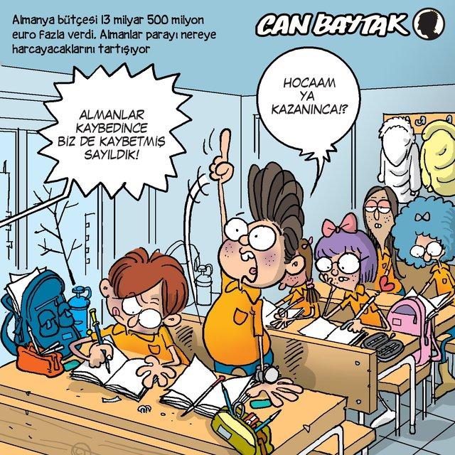 Can Baytak karikatürleri (Ocak 2020)