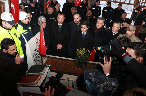 Kahraman polis tüm Türkiye'de anılıyor