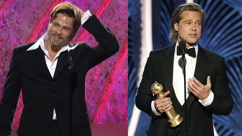 1996 ve 2020 yıllarında Brad Pitt