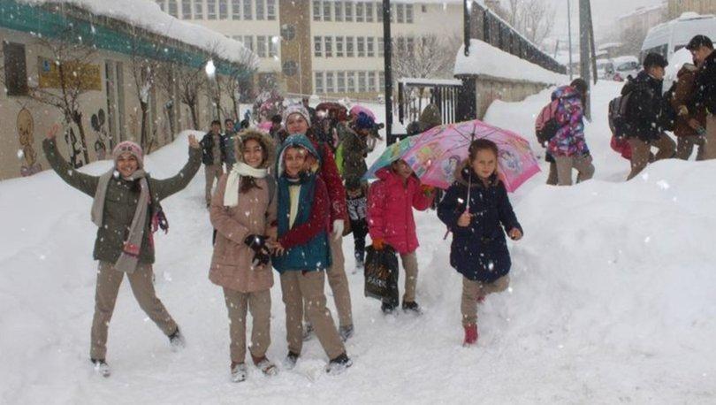 Ankara'da bugün okullar tatil mi? Ankara Valisi'nden SON DAKİKA kar tatil açıklaması