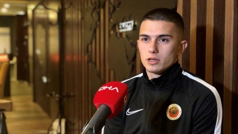 Gençlerbirliği futbolcusu Berat Özdemir: Hamza Hoca ile üstün bir performans sergiledik