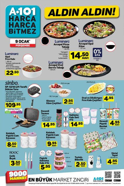 A101 9 Ocak 2020 aktüel ürünleri satışa çıkıyor! A101 bugün hangi ürünler indirimli olacak? İşte tam liste