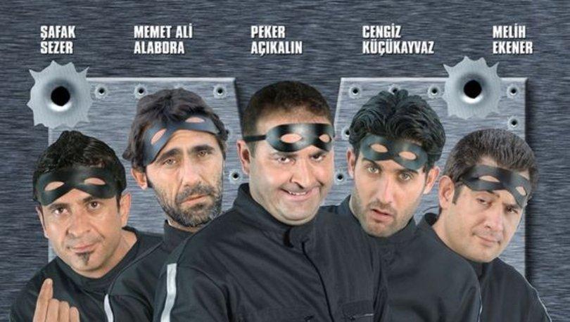 Maskeli Beşler oyuncuları ve konusu