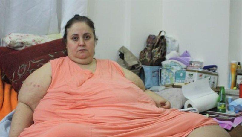 220 kiloluk kadının 'beni kurtarın' feryadı