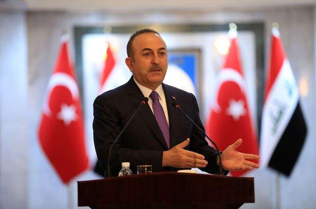 """Çavuşoğlu'ndan IKBY'ye """"Irak'ın yanındayız"""" mesajı"""