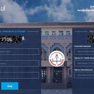 e okul VBS veli bilgilendirme sistemi 2020