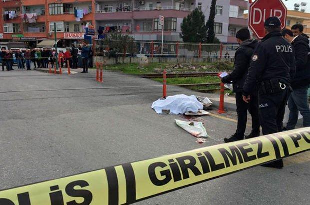 Trenin çarptığı kadın öldü