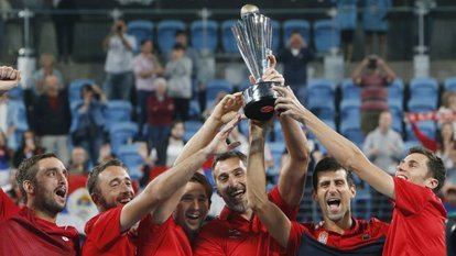 ATP Cup'ta şampiyon Sırbistan