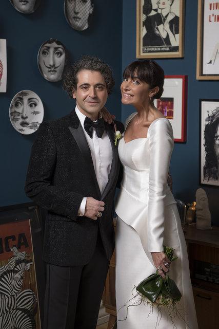 Sıla ile Hazer Amani evlendi! İşte Sıla - Hazer Amani nikahından ilk fotoğraflar... - Magazin haberleri