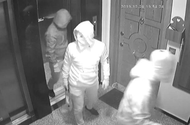 Polisle çatışan hırsızlara kelepçe