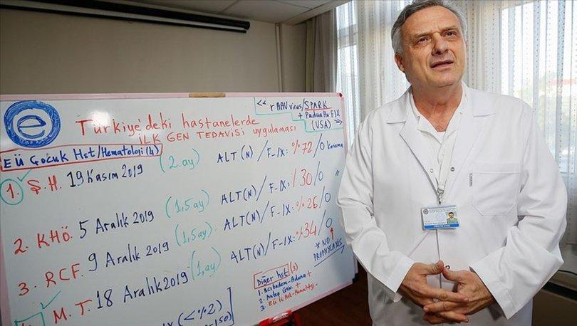 hemofili hastaları için gen tedavisi