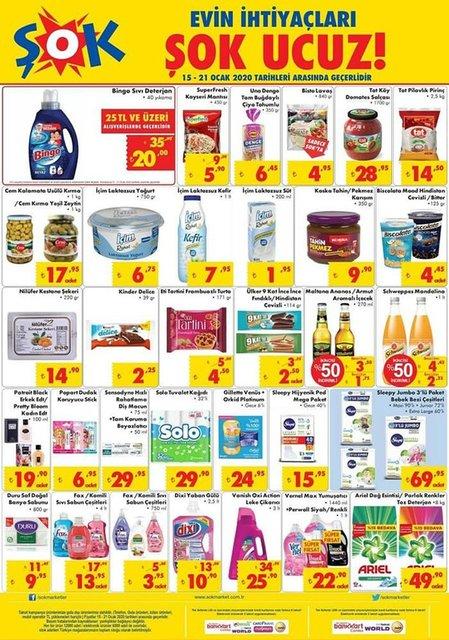 ŞOK aktüel 15 Ocak 2020 ürünleri satışa çıktı! Bu hafta ŞOK'ta hangi ürünler indirimli? İşte tam liste