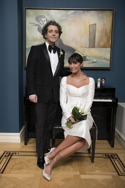 Sıla - Hazer Amani çiftinin düğününe ünlü akını - Magazin haberleri