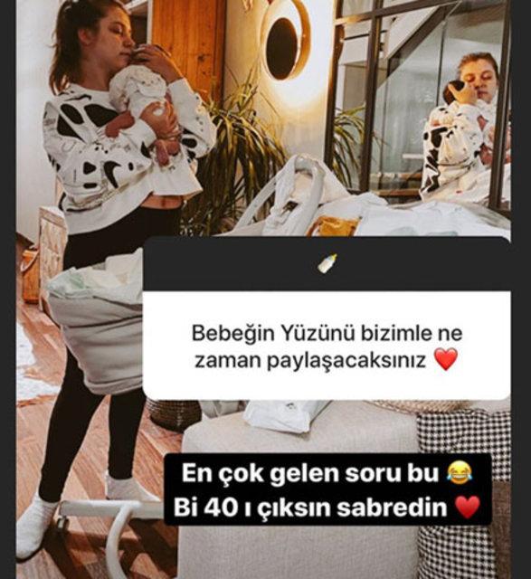 Gamze Erçel kızı Aylin Mavi'nin yüzünü ne zaman göstereceğini açıkladı - Magazin haberleri