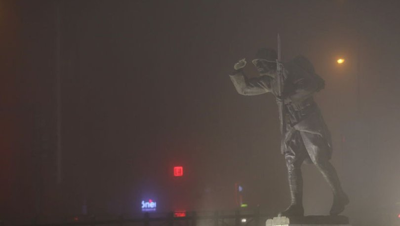 Başkent'te yoğun sis etkisi
