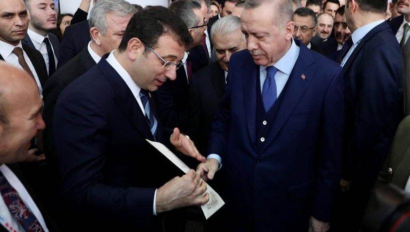 Erdoğan'dan İmamoğlu mektubu yorumu