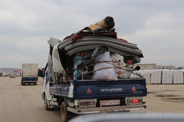 İdlib'den 13 bin sivil daha göç etti!