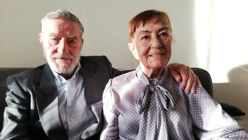 Sanatçı Ahmet Mekin, hastanedeki eşinin başında