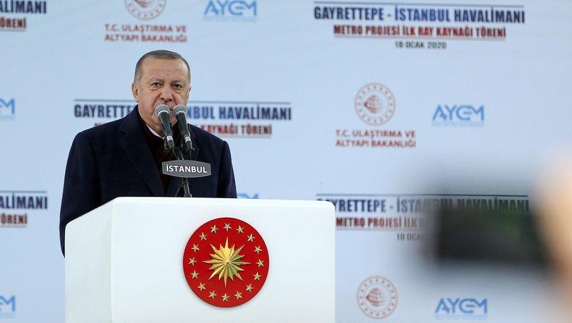Son dakika! Cumhurbaşkanı Erdoğan açıkladı:
