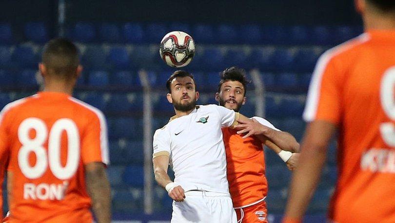 Adanaspor: 0 - Akhisarspor: 0   MAÇ SONUCU
