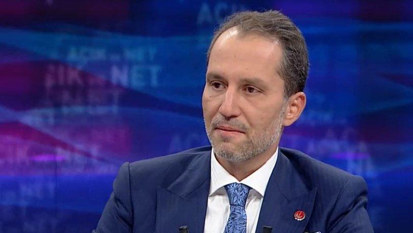 Yeniden Refah Partisi Genel Başkanı Fatih Erbakan, Habertürk'e ...