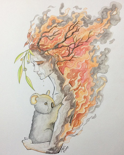 Orman yangınlarını böyle işlediler...