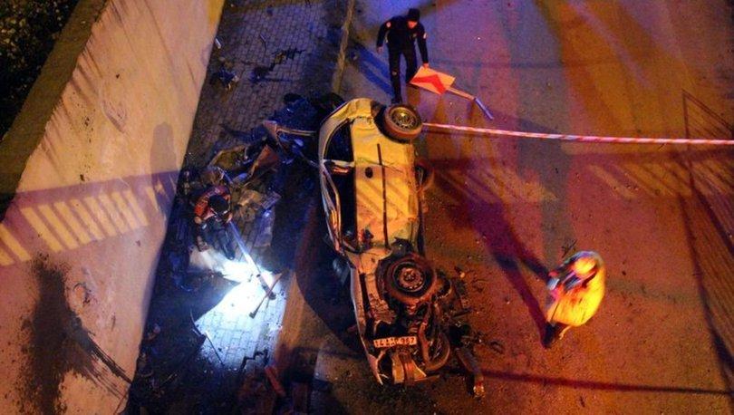 Bolu'da korkunç kaza: 2 ölü