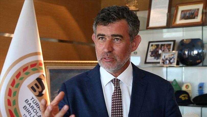 TBB Başkanı Feyzioğlu: Yargı, FETÖ'ye karşı suçluyu suçsuzdan ayırma noktasında çok ciddi mücadele veriyor