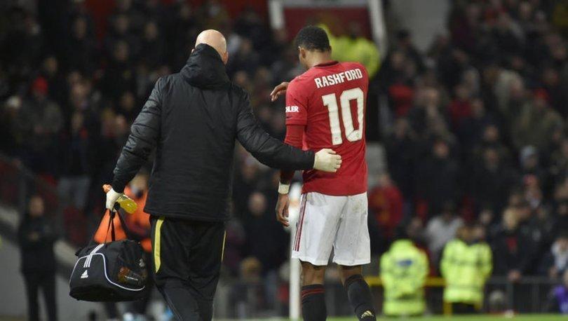Manchester Unitedlı Rashford, sahalardan 1,5 ay uzak kalacak