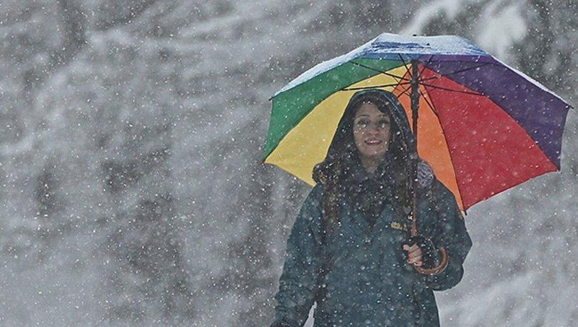 SON DAKİKA HAVA DURUMU! Yurt genelinde sağanak ve kar!