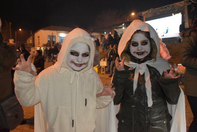Balkan geleneği Bocuk Gecesi Edirne'de kutlandı