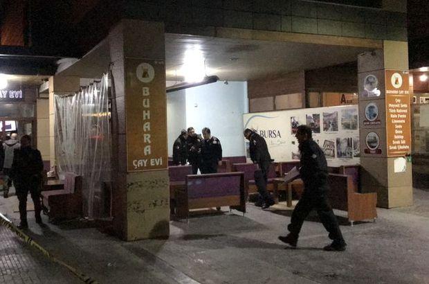Bursa'da silahlı saldırı! Anbean kameraya yansıdı