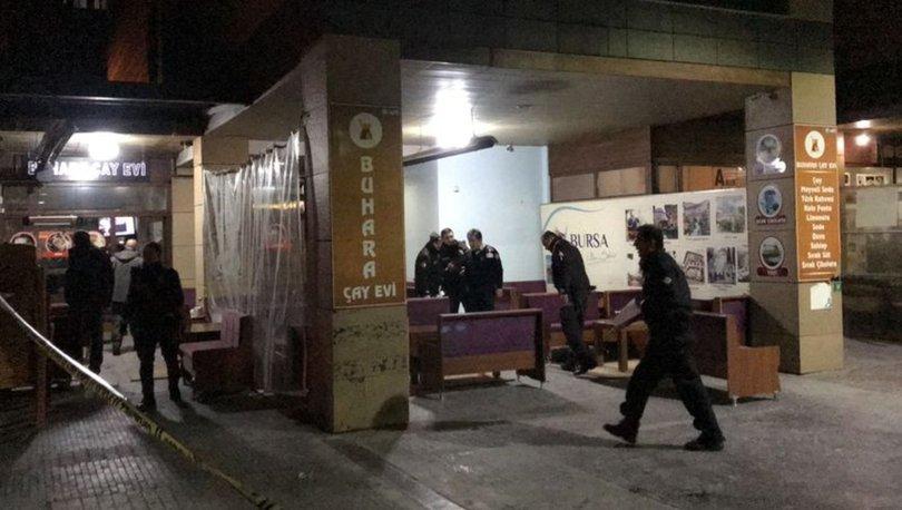 Bursa'da silahlı saldırı kameraya yansıdı! 1 ağır, 2 yaralı
