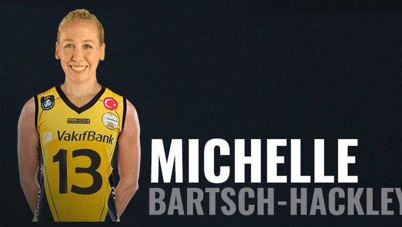 VakıfBank, ABD'li voleybolcu Michelle Bartsch-Hackley'i transfer etti