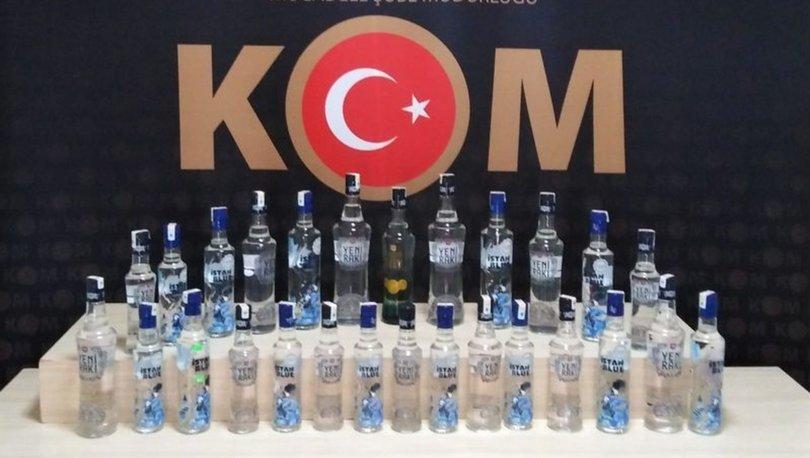 Denizli merkezli 7 ildeki sahte içki operasyonunda 27 şüpheli gözaltına alındı