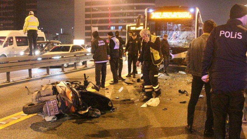 Şişli'deki metrobüs kazasında gözaltına alınan şoför serbest kaldı