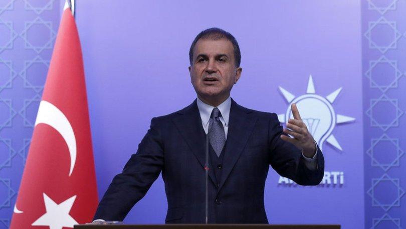 AK Parti Sözcüsü Ömer Çelik'ten CHP'ye İdlib tepkisi
