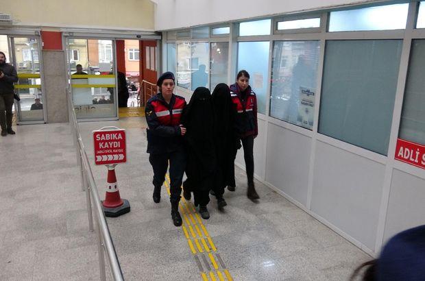 DEAŞ'lı kadınlara Suriye dönüşü kelepçe