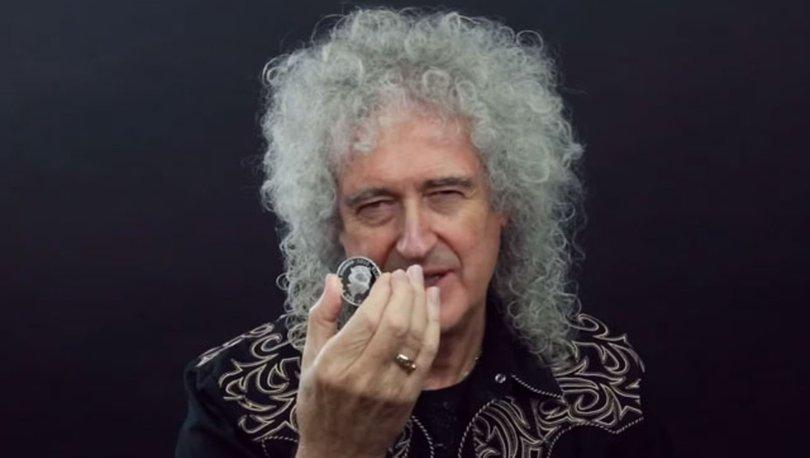 Efsane rock grubu Queen'e özel para basıldı