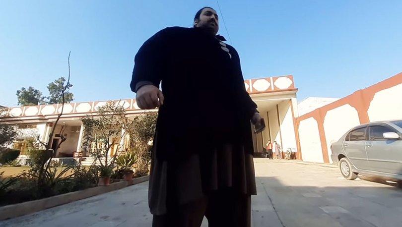 Pakistanlı Hulk'tan sıra dışı istek! 'En az 100 kilo olmalı' - Haberler