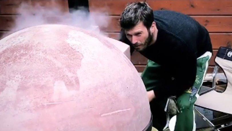 Kıvanç Tatlıtuğ'un mangal keyfi olay oldu - Magazin haberleri