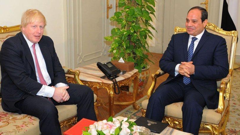 İngiltere Başbakanı Johnson ve Mısır Cumhurbaşkanı Sisi Libya'yı görüştü