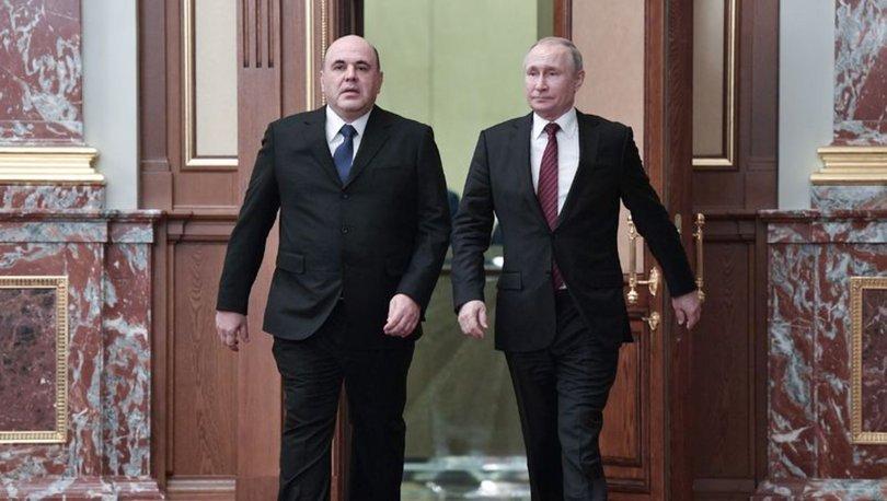 Rusya'da yeni Başbakan Mişustin, Putin'e yeni kabineyi sundu