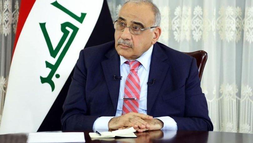 Irak Başbakanı Abdülmehdi'den Bağdat Büyükelçiliği'ne saldırılara ilişkin açıklama