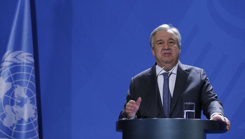 Guterres'ten Libya açıklaması