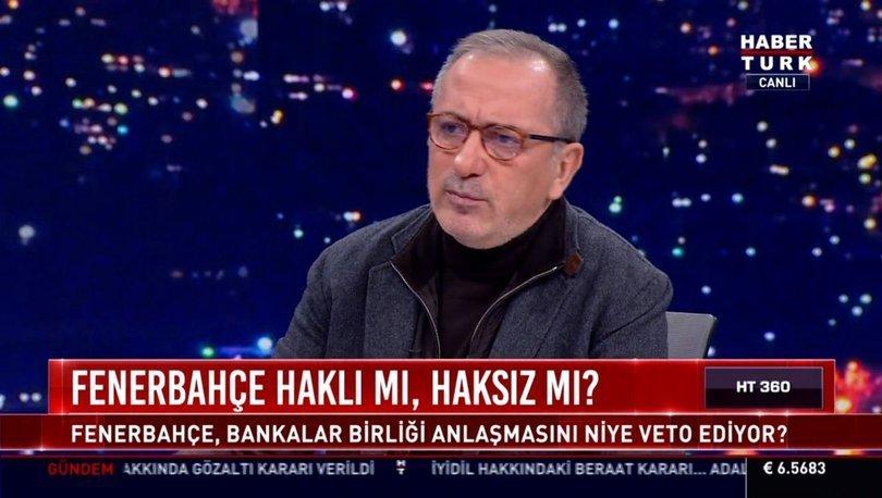 Fatih Altaylı: TFF, artık 'Bankalar federasyonu'dur!